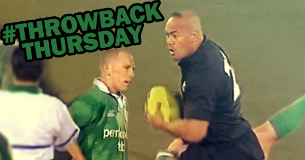 #TBT: Peter Stringer's brilliant low tackle on Jonah Lomu in 2002