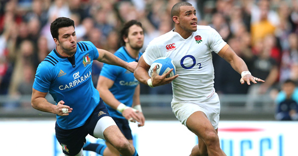 Jonathan Joseph picks up second half hat-trick as England thump Italy