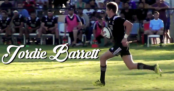 Beauden Barrett's younger brother Jordie set to star in U20 World Championship
