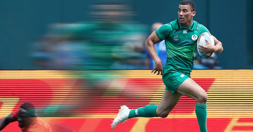 Ireland speed merchant Jordan Conroy has burned even more defenders