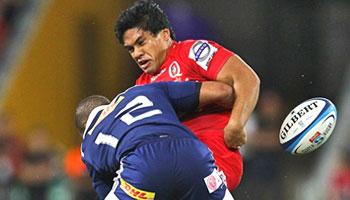 Juan De Jongh's big hit breaks Ben Tapuai's collarbone