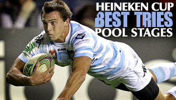 The Best Tries from the Heineken Cup Pool Stages