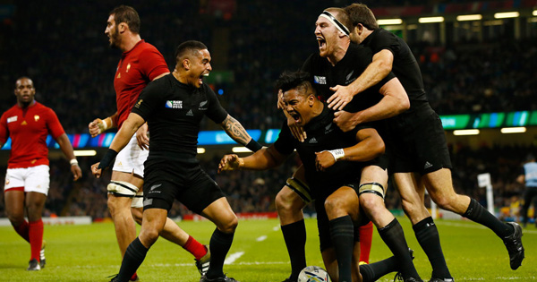 New Zealand run riot to thrash France in Cardiff Quarter Final