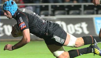 Justin Tipuric scores two great tries against Newport Gwent Dragons