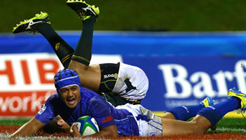 The Best Five Tries from Round three of the 2014 Junior World Championship