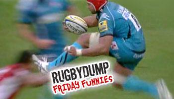 Friday Funnies - Sione Kalamafoni penalised for hurdling a tackler