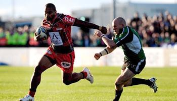 Mafileo Kefu try for Toulon against Connacht