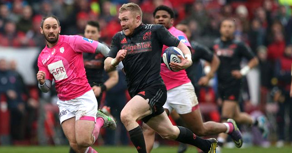 Keith Earls slices through Stade Francais for great individual try