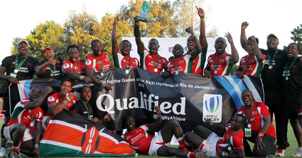 Kenya book Olympic place with superb last-minute try against Zimbabwe