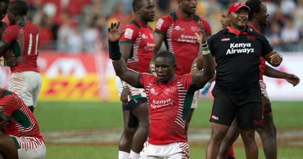 Kenya upset Fiji to win first ever Sevens Series tournament!