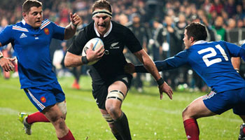 The All Blacks win the series with convincing victory over France