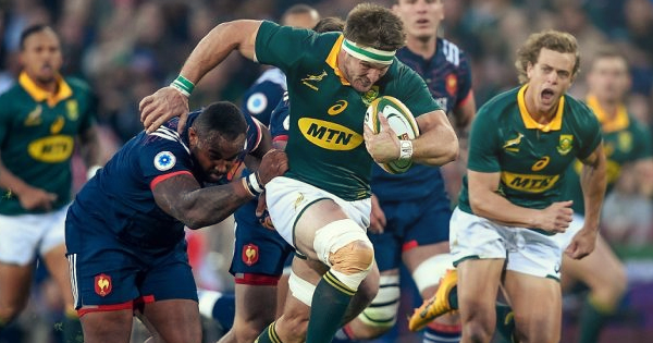 South Africa complete 3-0 series sweep against France