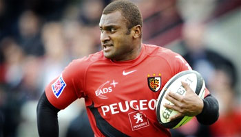Tribute to Fijian and Toulouse back Maleli Kunavore - died aged 29