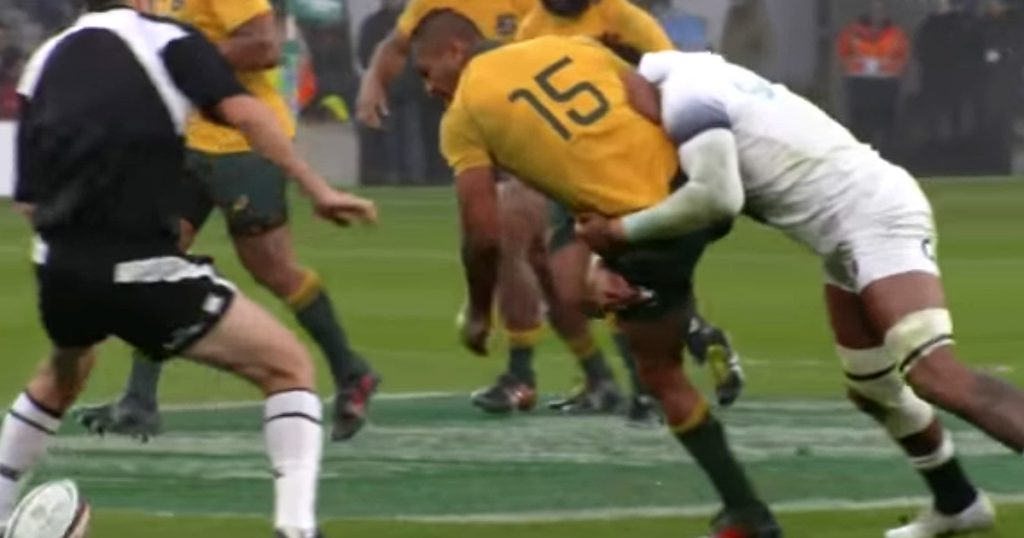 Courtney Lawes lays into Kurtley Beale as England run rampant over Australia