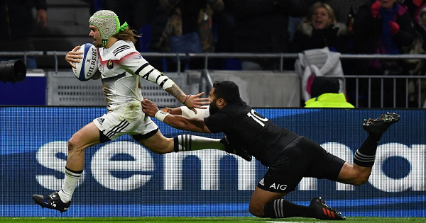 France XV narrowly miss out on All Black victory in Lyon