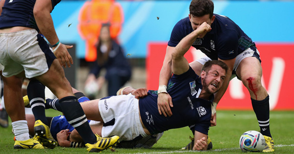 Scotland edge Samoa in classic Rugby World Cup match in Newcastle