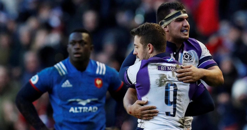 Thomas brace not enough as Scotland edge out France in Murrayfield thriller