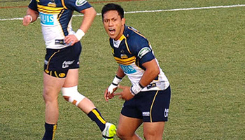 A fascinating look, and listen, at Christian Lealiifano mic'd up during a match