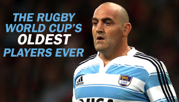 The Rugby World Cup's Oldest Players Ever