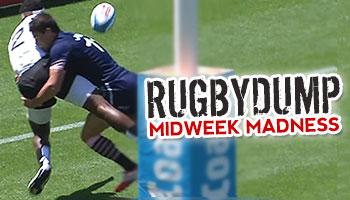Midweek Madness - Lee Jones prevents Fijian try after casual effort to score