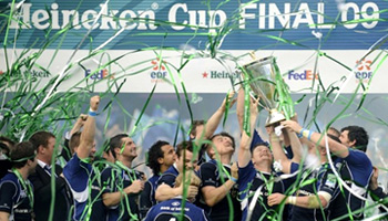 Leinster beat Leicester Tigers to win the 2009 Heineken Cup