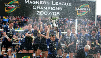 Leinster win the Magners League