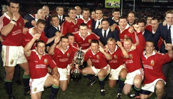 Looking back at the Lions' series win in South Africa in 1997