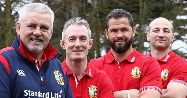 Warren Gatland confirms British & Irish Lions coaching team for New Zealand tour