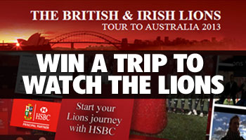 WIN a trip to watch the Lions in Australia with HSBC