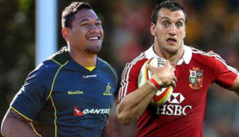 Wallabies and British & Irish Lions teams named for first Test on Saturday