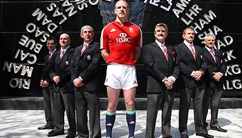 British & Irish Lions 2009 Squad