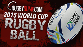 WIN an official Rugby World Cup 2015 Match Ball