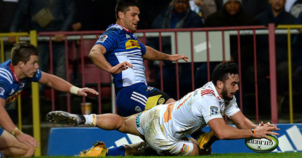 Chiefs thrash the Stormers in quarter final playoff in Cape Town
