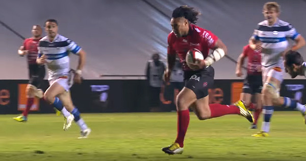 Ma'a Nonu and Quade Cooper combine for awesome Toulon try vs Castres