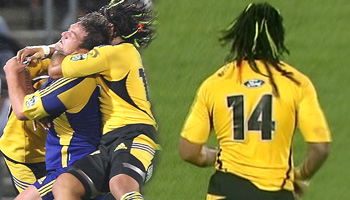 Ma'a Nonu high tackle on Clint Newland - banned for one week