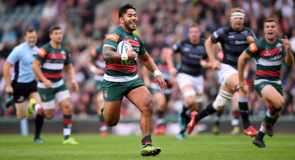 Manu Tuilagi's rampaging 50m try named Try of the Week in the Premiership