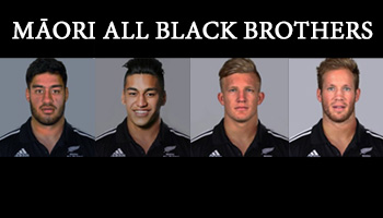 Two sets of brothers selected in Maori All Blacks team to play Fiji