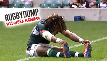 Midweek Madness - Marland Yarde recovers from cramp to score a try