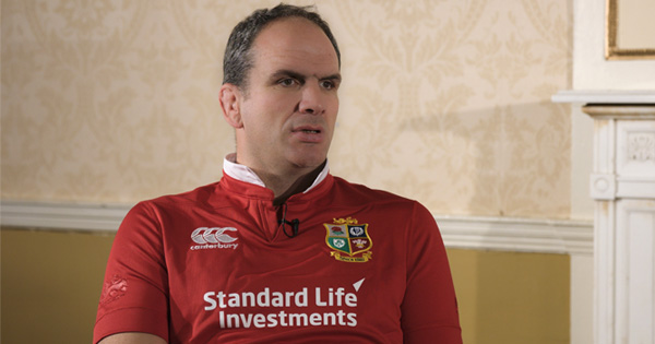 Martin Johnson reflects on England win over Wales in Lions context