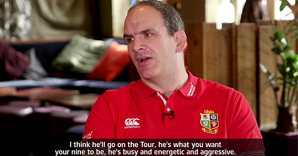Martin Johnson picks B&I Lions form players ahead of final Six Nations round