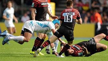 Josh Matavesi banned for brutal high tackle on Neil De Kock