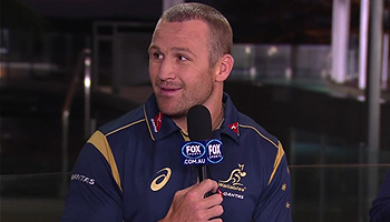 Matt Giteau chats to Rugby HQ about his return to the Wallabies