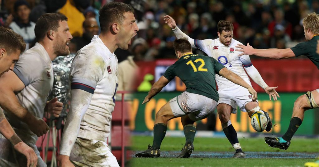 Springboks take series 2-1 but England boosted by good win in the wet
