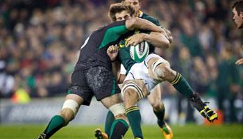 Two big hits from Ireland vs Springboks - Mike McCarthy and Marcel Coetzee