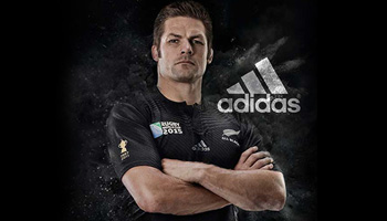 A look at the new All Blacks Rugby World Cup 2015 Jersey