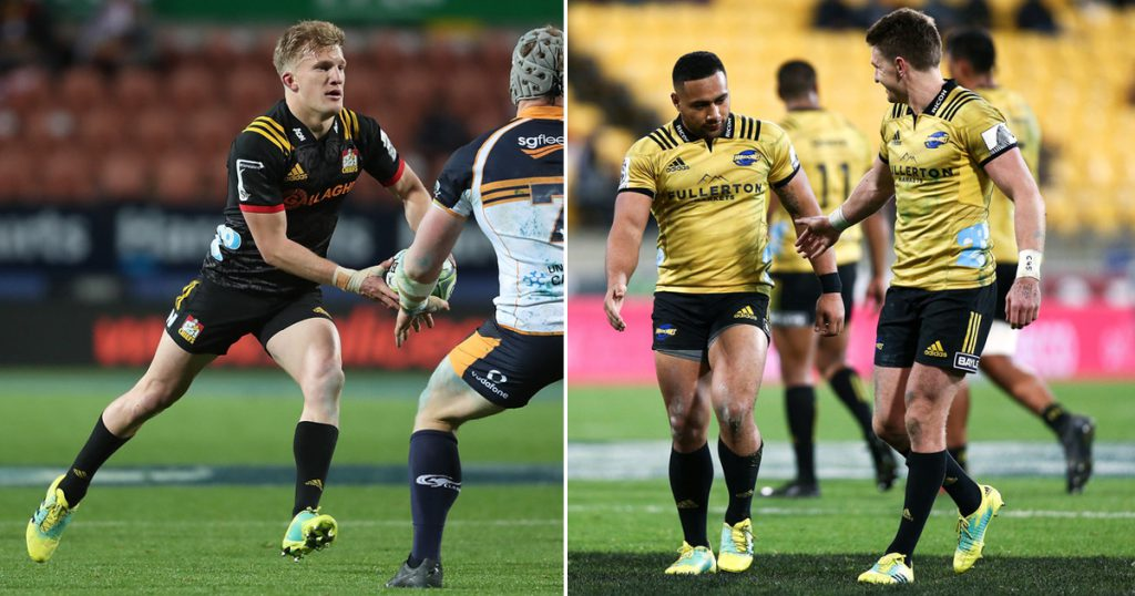 All Blacks 10s one-up each other for sensational pass of the weekend