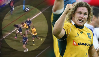 Michael Hooper cited for off the ball punch against Argentina
