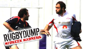 Midweek Madness - The old ball in the jersey trick