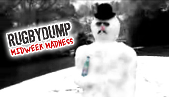 Midweek Madness - Snowman takes a high shot