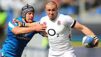 England notch up 50 in Rome but Championship fate out of their hands